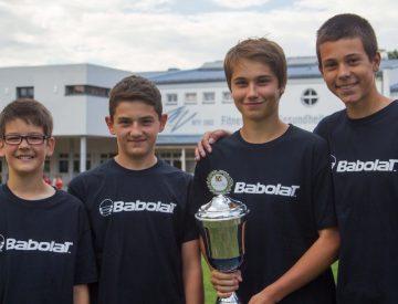 Knaben U14 Meister Oberfanken 2015