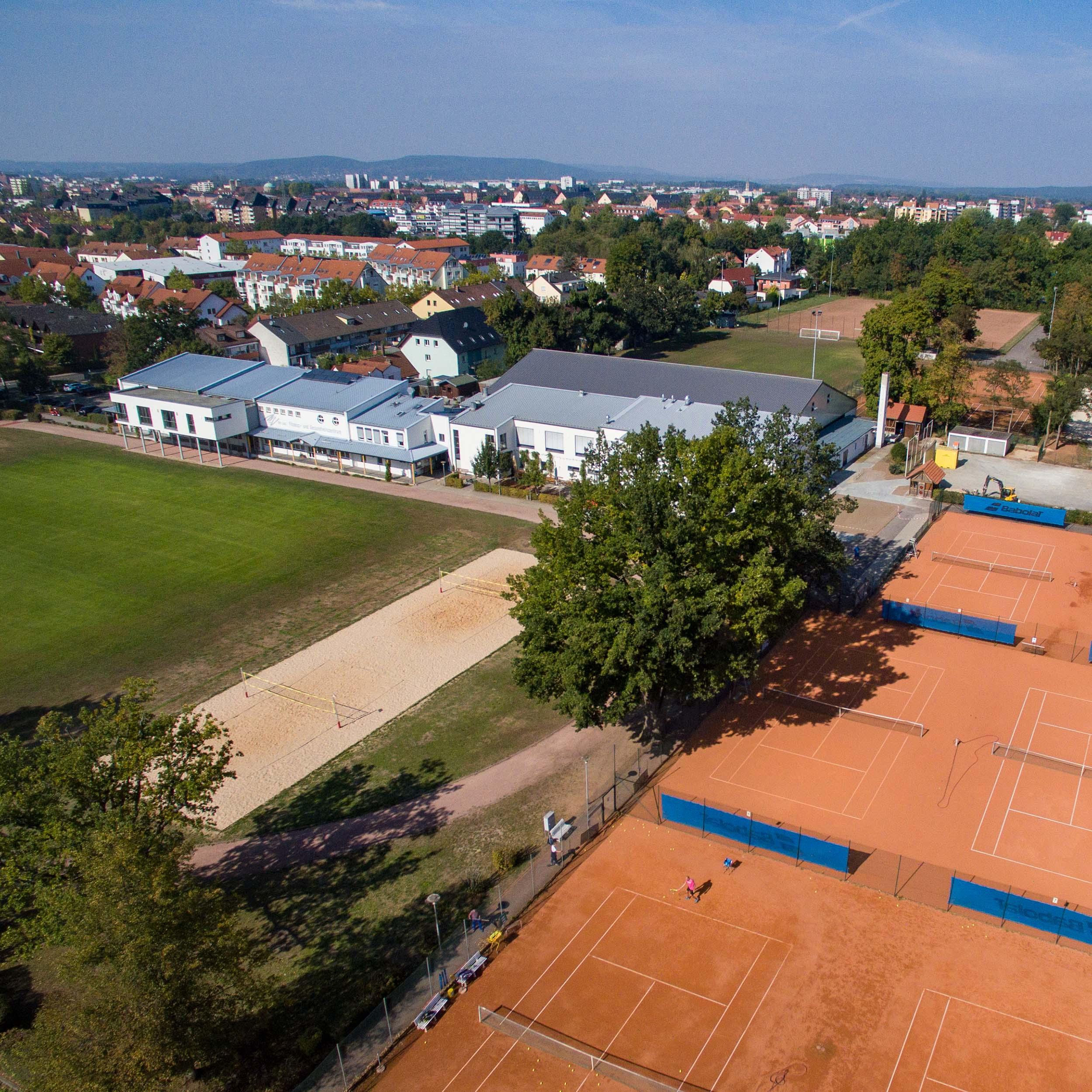 Partner und Haupttrainingsort der Tennisschule