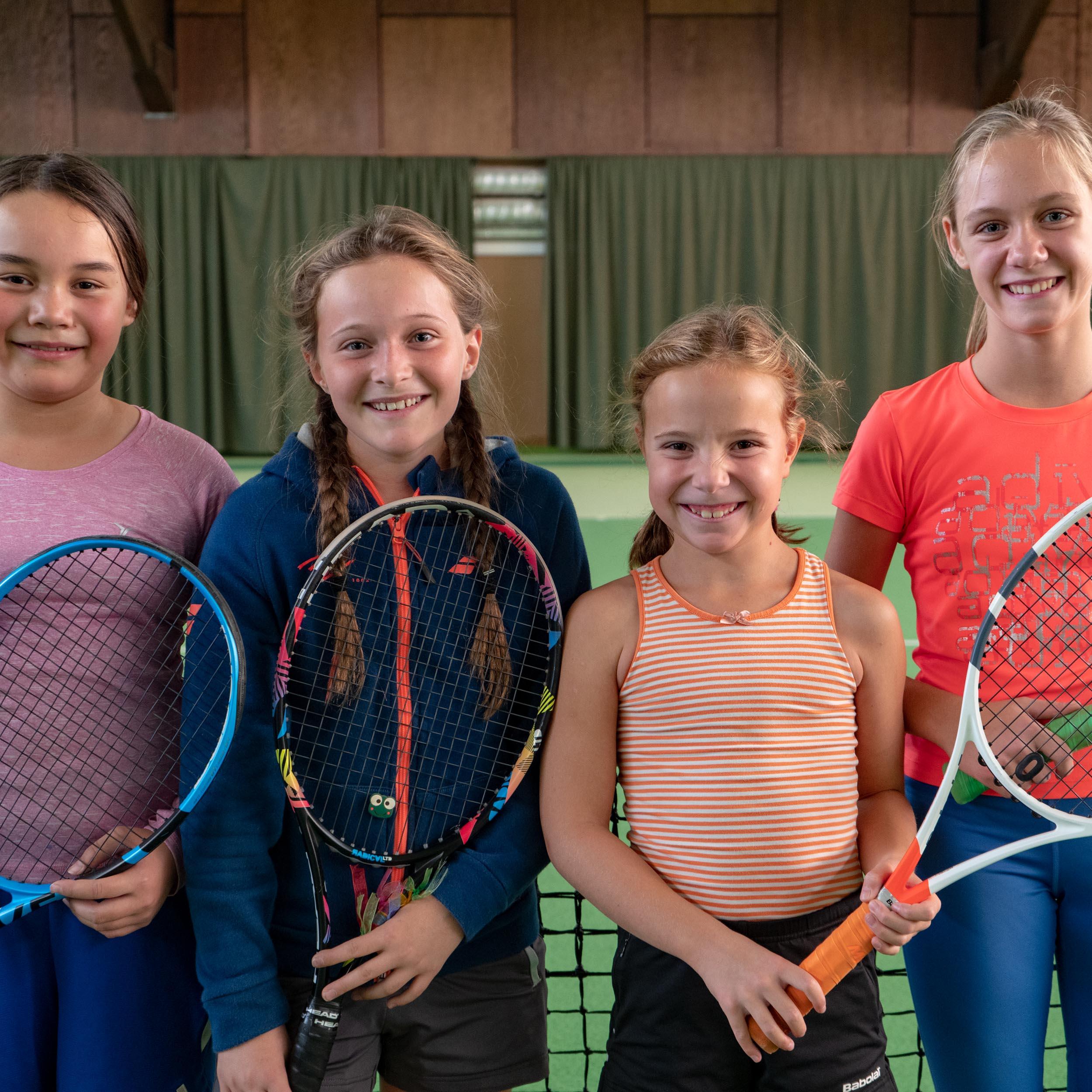 Tennis mit uns macht Spaß